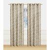 Window Elements Botanica Faux Linen Semi-Sheer Grommet Curtain Panel