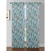 Window Elements Ashville Printed Rod Pocket Sheer Curtain Panel