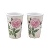 <strong>Rose Melamine Cup (Set of 2)</strong> by Shall Housewares International