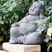 Garden Age Laughing Buddha Statue