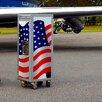 MySky SkyCart American Flag Serving Cart