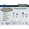 Johnson Rose Corporation Shelled 20 Piece 18 Stainless Steel Flatware Set
