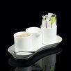 Fortessa Sugar and Creamer Set