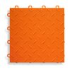 "BlockTile 12"" x 12""  Garage Flooring Tile in Orange (Set of 27)"
