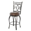 "American Heritage Nadia 26"" Swivel Bar Stool"