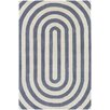 Thomas Paul Tufted Pile Grey Geometric Rug