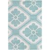 Thomas Paul Tufted Pile Blue Obi Rug
