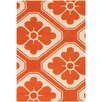 Thomas Paul Tufted Pile Orange Obi Rug