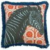 "<strong>18"" Zebra Pillow</strong> by Thomas Paul"