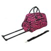 """All-Seasons Vacation Deluxe 21"""" 2 Wheeled Carry-On Duffel"""