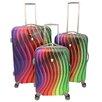 Dejuno Prism 3 Piece Luggage Set