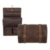 Canyon Outback Leather Buffalo Mountain Hanging Toiletry Bag