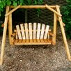 <strong>Moon Valley Rustic</strong> Nicholas Child Porch Swing with Stand