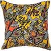 Betsey Johnson Va Va Voom Digital Printed Throw Pillow