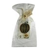 Golden Hill Studio Pumpkin Flour Sack Towel (Set of 3)