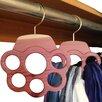 Hang A Bunch Hab3 Design 6 Hole Cedar Scarf Hanger (Set of 2)
