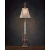 "John Richard Glass 51"" H Table Lamp with Empire Shade"