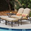 Darlee Catalina Loveseat and Double Ottoman Cushion