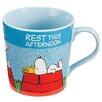 Vandor LLC Peanuts Snoopy Comics 12 oz. Ceramic Mug