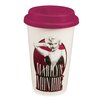 Vandor LLC Marilyn Monroe 12 oz. Double Wall Ceramic Travel Mug