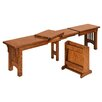 Amish Impressions by Fusion Designs Heartland Mission Wood Kitchen Bench
