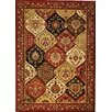 Well Woven Barclay Wentworth Panel Red Area Rug