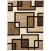Well Woven Ruby Imagination Squares Contemporary Rug