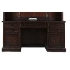 Magnussen Furniture Lafayette Executive Desk with 3 Drawer Wire Management
