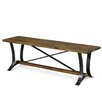 Magnussen Furniture River Ridge Wood Kitchen Bench