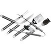 Chef Basics 6 Piece Stainless Steel BBQ Set
