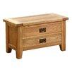 AlpenHome Millais Petite Wooden 2 Drawer Blanket Box