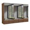 All Home Imago 5 Door Mirrored Wardrobe