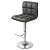 House Additions 65 cm Adjustable Bar Stool with Padded Seat