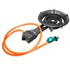 Alpine Cuisine 40,000 BTU Propane Burner with Regulator and Hose