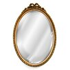 Hickory Manor House Oval with Bow Mirror