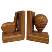 Hickory Manor House Golf Book Ends (Set of 2)