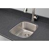 """Wells Sinkware Craftsmen Series 15.25"""" x 19"""" Bar Sink"""