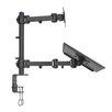 Vivo Laptop and LCD Monitor Desk Mount Stand