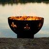 Fire Pit Art Fleur de Lis Fire Pit