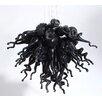 D'Fine Lighting Obsidian 4 Light Chandelier