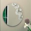nexxt Design Flaunt Floral Round Mirror