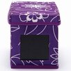 nexxt Design Write On Floral Printed Fabric Storage Boxes (Set of 3)