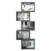 nexxt Design Bricks Block 5-Opening Picture Frame