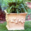 Ladybug Garden Decor Square Lemon Planter Box