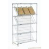 Nexel Slant 5 Shelf Shelving Unit