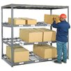Nexel 3 Level Carton Gravity Flow Rack