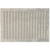 Rug Expressions Silver Wide Stripe Area Rug
