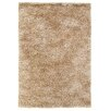 Rug Expressions Luxe Shags Beige Area Rug