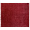 Rug Expressions Mini Bars Red Area Rug