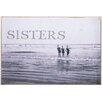 Elizabeth Lucas Company Sisters Vintage Advertisement on Canvas